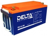 Гелевые аккумуляторы глубокого цикла Delta