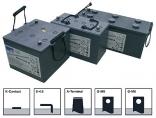 Гелевые аккумуляторы глубокого цикла Sonnenschein